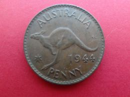 Australie  1 Penny  1944   Km 36 - Moneda Pre-decimale (1910-1965)