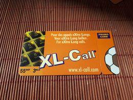 Xl-Call Prepaidcard Footbal 55 BEF (Mint,Neuve) 2 Scans  Rare - Belgique
