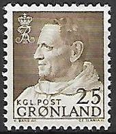 GROENLAND    -   1963  .  Y&T N° 42 **.    Frédéric IX. - Groenland