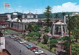 1 AK Costa Rica * Metropolitan Cathedral And Parque Central In Der Hauptstadt San Jose - Eine Krüger Karte * - Costa Rica