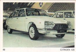 Image Style Chromo Voiture Des Années 60 / 70 / 80 / CITROËN GS - Old Paper