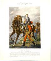 Bonaparte.bataille De Marengo.mort Du Général Desaix Le 14 Juin 1800.Campagne D'Italie.l'armée Autrichienne Est Détruite - Prints & Engravings