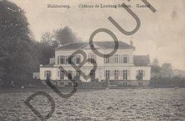 Postkaart - Carte Postale - Huldenberg - Château De Limburg -Stirum  (B578) - Huldenberg