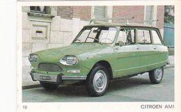 Image Style Chromo Voiture Des Années 60 / 70 / 80 / CITROËN AMI 8 - Old Paper