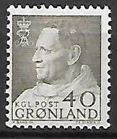 GROENLAND    -   1963  .  Y&T N° 44 **.    Frédéric  IX - Groenland
