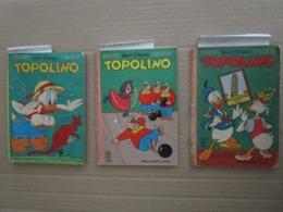 TOPOLINO N 417 / 495 / 636 DA RECUPERO - Disney