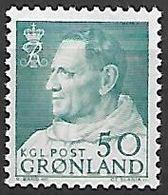 GROENLAND    -   1963  .  Y&T N° 45 **.    Frédéric  IX - Groenland