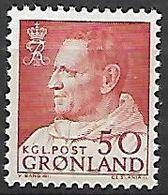 GROENLAND    -   1963  .  Y&T N° 46 **.    Frédéric  IX - Groenland