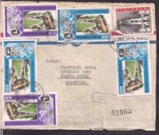 Venezuela - 1997 - Lettre - Air Mail - Courrier Recommandé - Cygnus - Venezuela