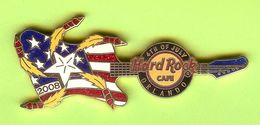 Pin's Hard Rock Café 4th Of July Orlando Feu D'Artifice Guitare - HRC080 - Musica