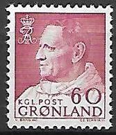GROENLAND    -   1963  .  Y&T N° 47 **.    Frédéric  IX - Groenland