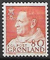 GROENLAND    -   1963  .  Y&T N° 48 **.    Frédéric  IX - Groenland