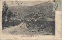 04 - SAINT PONS DE BARCELONNETTE Précurseur écrite Timbrée - Autres Communes