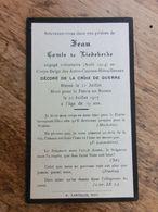 Comte Jean De Liedekerke, Volontaire Au Corps Belge Des Autos-Canons-Mitrailleuses, Mort Pour La Patrie En Russie 1917 - 1914-18