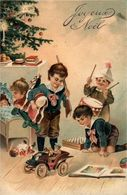 Joyeux Noël  Embossed Relief Gaufrée - Otros