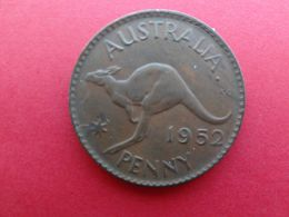 Australie  1 Penny  1952  Km 43 - Moneda Pre-decimale (1910-1965)