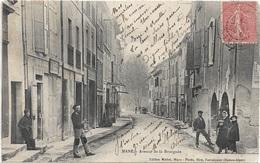 $ RARE $ 04 - MANE Avenue De La Bourgade Animée écrite Timbrée - Autres Communes