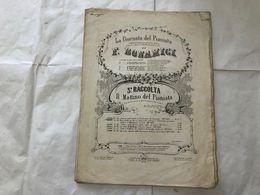 SPARTITO MUSICALE F.BOMANICI LA GIORNATA DEL PIANISTA IL MATTINO DEL PIANISTA-- - Partitions Musicales Anciennes