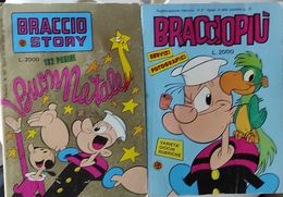 Due Libretti 1 Braccio Story  L'altro Braccio Più - Disney