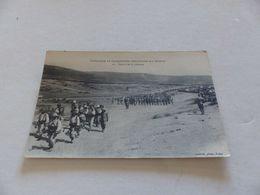 146 - CPA , Colonnes Et Opérations Militaires Au Maroc , Départ De La Colonne - War 1914-18