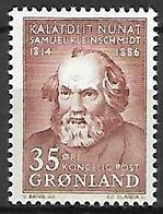 GROENLAND    -   1964  .  Y&T N° 55 **.    Samuel Kleinschmidt - Groenland