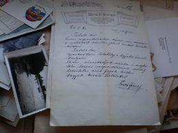 Resch Jozsef Zombor Sombor 1913 - Factures & Documents Commerciaux