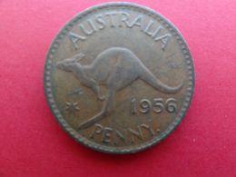 Australie  1 Penny  1956  Km 56 - Moneda Pre-decimale (1910-1965)