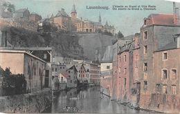¤¤   -   LUXEMBOURG   -   L'Alzette Au Grund Et Ville Haute         -  ¤¤ - Luxemburg - Stad