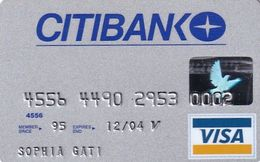 GREECE - CitiBank Visa(reverse Oberthur), 05/02, Used - Carte Di Credito (scadenza Min. 10 Anni)