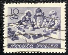 Polska - Poland - Polen - P1/8 - (°)used - 1953 - Onderwijs - Michel Nr. 834 - Childhood & Youth