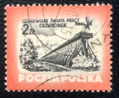 Polska - Poland - Polen - P1/8 - (°)used - 1953 - Kuuroorden - Michel Nr. 830c - Bäderwesen