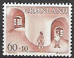 GROENLAND    -   1968  .  Y&T N° 60 **.   Au Profit De L' Enfance - Groenland