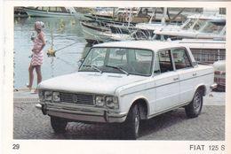 Image Style Chromo Voiture Des Années 60 / 70 / 80 / FIAT 125 S - Vieux Papiers
