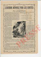 2 Scans Presse 1936 Cartomancienne Tireuse De Cartes Voyante Voyance 229CH24 - Vieux Papiers