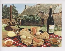 Recette Des Crêpes Bretonnes (cp N°5310 Yvon) Table Ferme Pressoir Cidre Beurre - Ricette Di Cucina