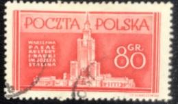 Polska - Poland - Polen - P1/8 - (°)used - 1953 - Wederopbouw Van Warschau - Michel Nr. 824 - Used Stamps