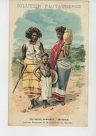 AFRIQUE - ETHIOPIE - LES RACES HUMAINES - Jeunes Femmes De La Province Du HARRAR (ABYSSINIE ) - Pub SOLUTION PAUTAUBERGE - Ethiopie