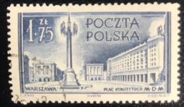 Polska - Poland - Polen - P1/8 - (°)used - 1953 - Wederopbouw Van Warschau - Michel Nr. 825 - Used Stamps