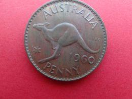 Australie  1 Penny  1960  Km 56 - Moneda Pre-decimale (1910-1965)