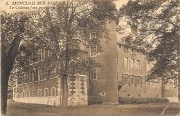Monceau-sur-Sambre NA12: Le Château. Vue Postérieure 1923 - Charleroi