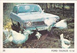 Image Style Chromo Voiture Des Années 60 / 70 / 80 / FORD TAUNUS 13 M - Vieux Papiers