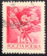 Polska - Poland - Polen - P1/8 - (°)used- 1954 - Dag Van De Arbeid - Michel Nr. 844A - Used Stamps