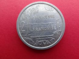 Polynesie  Francaise  2 Francs  1965  Km 3 - Polynésie Française