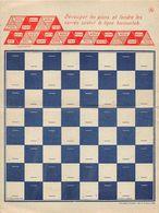 ¤¤   -   Carte-Double  -  JEU D'ECHECS  -  Carte à Système       -  ¤¤ - Ajedrez