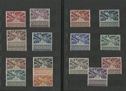 1946 ANNIVERSAIRE DE LA VICTOIRE Cote 25,75 € SERIE COMPLETE DE 15 VALEURS NEUVES ** MNH Présentées Dans Un Petit Album - 1946 Anniversaire De La Victoire