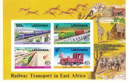 Uganda Hb 2sd SIN DENTAR - Uganda (1962-...)
