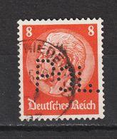 MiNr. 485 POL-Lochung   (0691) - Deutschland