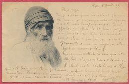 Alger - Vieux Juif Indigène N° 121 / Thème Judaïka Jude Jewish 1904 - Algérie