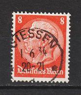 MiNr. 485 I  Vollstempel GIESSEN  (0961) - Deutschland