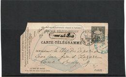 CTN63/EP - CP PNEUMATIQUE CHAPLAIN 30c - Postal Stamped Stationery